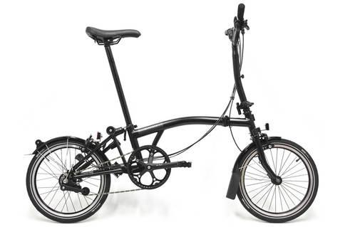 Brompton M6L Black Edition Folding Bike, Black
