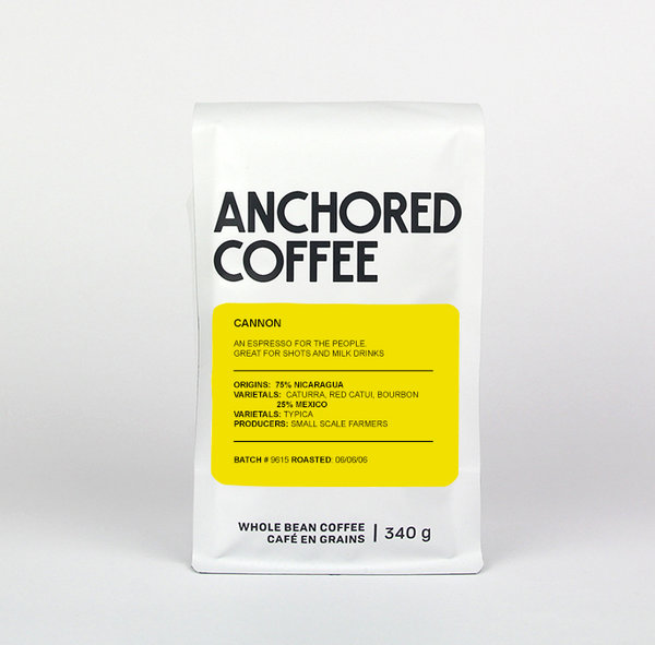 Anchored Coffee Cannon Espresso 12oz