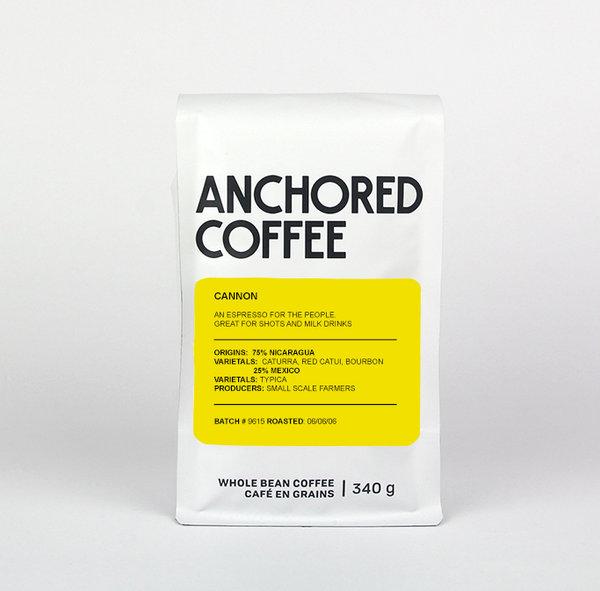 Anchored Coffee Cannon Espresso, 5lb