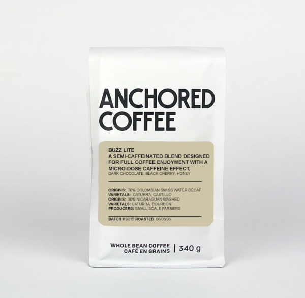 Anchored Coffee Buzz Lite 340g