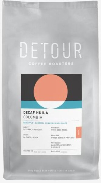 Detour Coffee Decaf Huila Colombia
