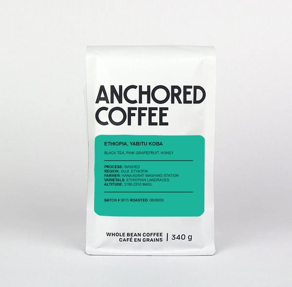 Anchored Coffee Ethiopia, Yabitu Koba Filter
