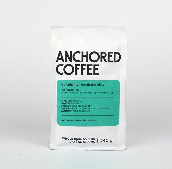 Anchored Coffee Guatemala, Hacienda Real Filter