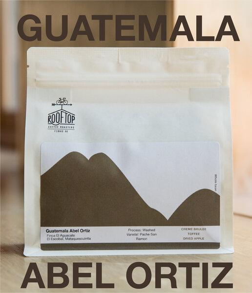 Rooftop Coffee Roasters Guatemala, Mataquescuintla Abel Ortiz - 340g