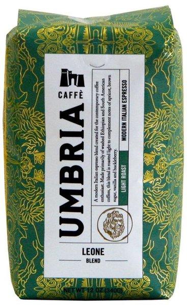 Caffè Umbria Leone, Light Roast, 12oz/340g