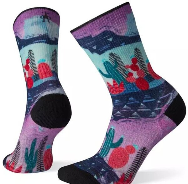 Smartwool Women's PhD® Outdoor Light Print Crew Hiking Socks