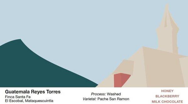 Rooftop Coffee Roasters Guatemala, Reyes Torres