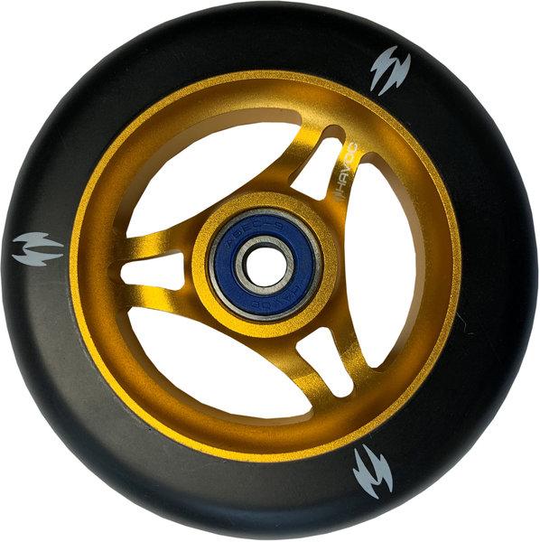 Havoc 110mm Wheel - Black/Gold