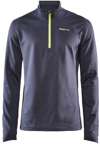 Craft Men's Pin Halfzip Color: Asphalt Acid