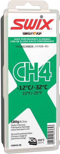 Swix CH4X Green Hydrocarbon Wax, 180 g