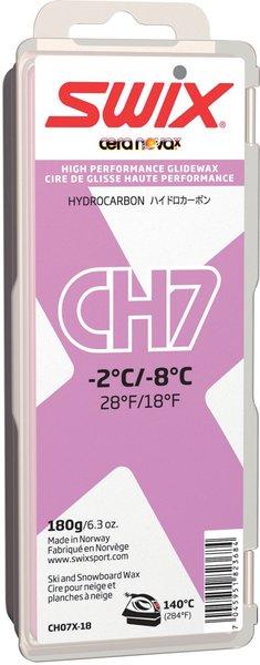 Swix CH7X Violet Hydrocarbon Wax, 180 g