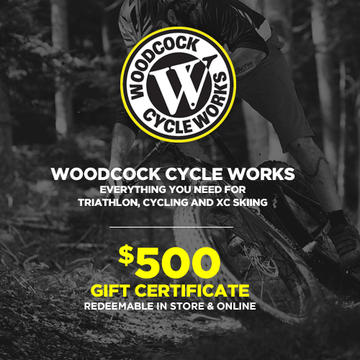 Woodcock Cycle Works Gift Card - $500