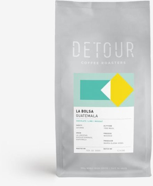 Detour Coffee La Bolsa, Guatemala, Filter