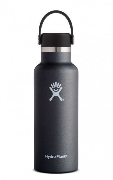 Hydro Flask 18 oz. Standard Mouth Bottle - Black