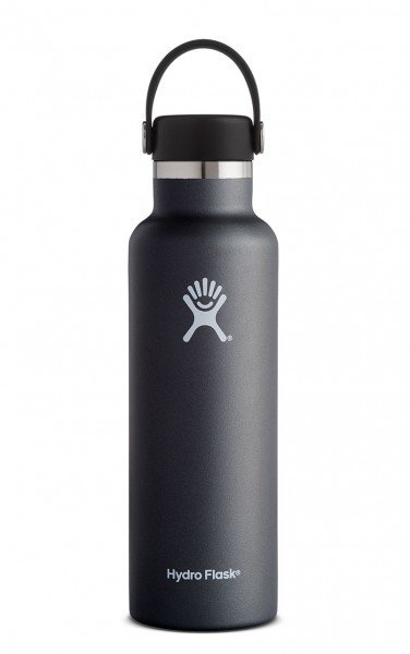 Hydro Flask 21 oz. Standard Mouth Bottle - Black