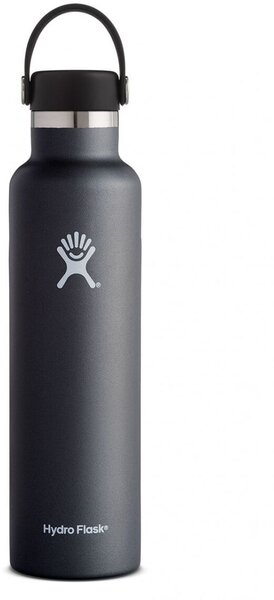 Hydro Flask 24 oz. Standard Mouth Bottle - Black