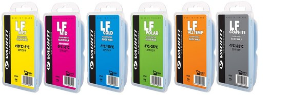 Vauhti LF Fluorinated Glide Waxes - 60g