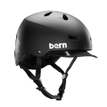 Bern Macon Color: Matte Black