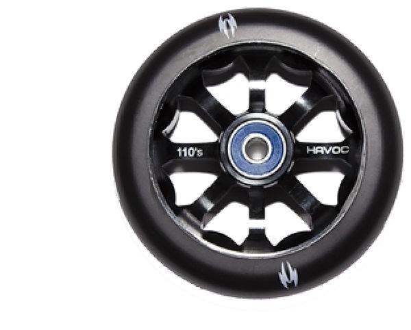 Havoc 110mm Wheel - Black/Black