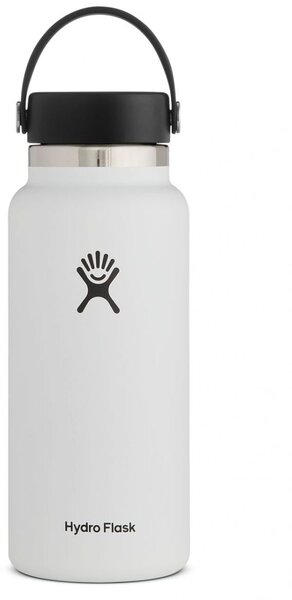 Hydro Flask 32 oz. Wide Mouth Bottle - White