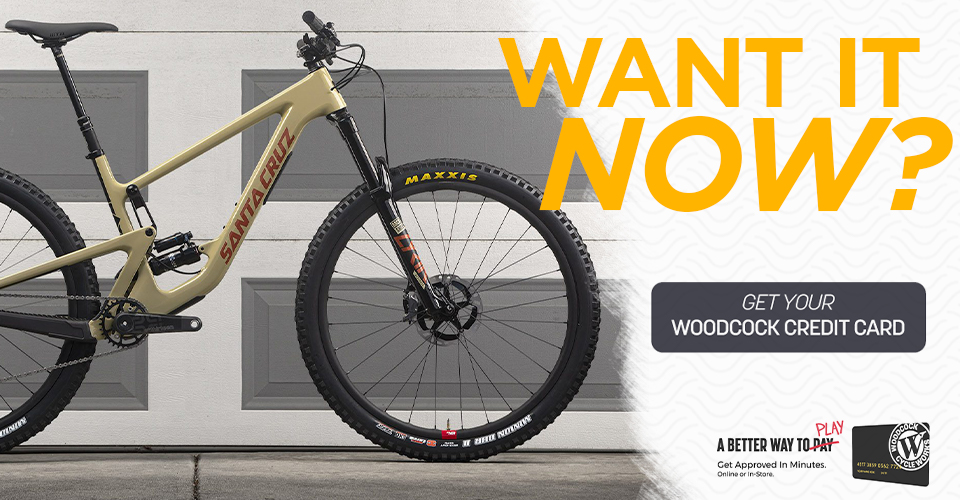 Want it now? get your woodcock credit card graphic