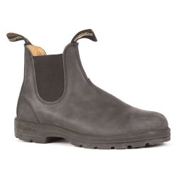 Blundstone 587 - Leather Lined Rustic Black