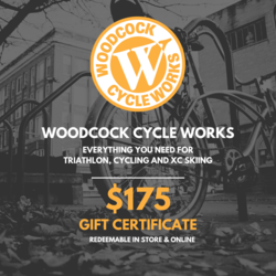 Woodcock Cycle Works $175 Gift Card