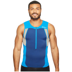 2XU ACTIVE TRI SINGLET DIRECTOR BLUE/NAVY