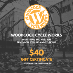 Woodcock Cycle Works $40 Gift Card