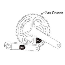 4iiii PRECISION PRO - Dual Side - Factory Install (we install on your crankset)