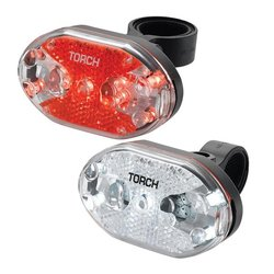 Torch White Bright 5X/ Tail Bright 5X Premium Flashing Light Set