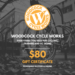 Woodcock Cycle Works $80 Gift Card