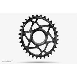 Absolute Black ABSOLUTE BLACK OVAL RACEFACE BOOST CHAINRING