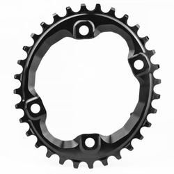 Absolute Black OVAL XT M8000/MT700 ASSYMETRICAL CHAINRING N/W