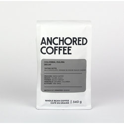 Anchored Coffee Colombia, Dulima Decaf