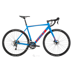 Felt Bicycles F40x Matte Cyan Red Black