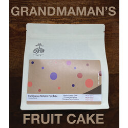 Rooftop Coffee Roasters Grandmaman Nichole's Fruit Cake- Holiday Blend 340g