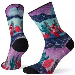 Smartwool Women's PhD® Outdoor Light Print Crew Hiking Socks