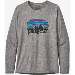 Patagonia Women's Long-Sleeved Capilene® Cool Daily Graphic Shirt