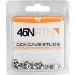 45NRTH XL Concave Carbide Aluminum Studs