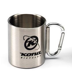 Kona Stainless Steel Camping Carabiner Mug