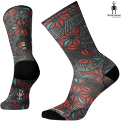 Smartwool Men's Curated Throwing Stars Crew Socks