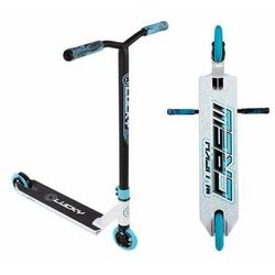Lucky Crew Pro Scooter - White & Blue