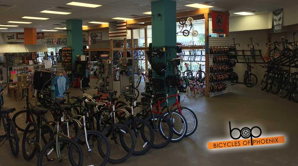 Bicycles Of Phoenix Sales Floor