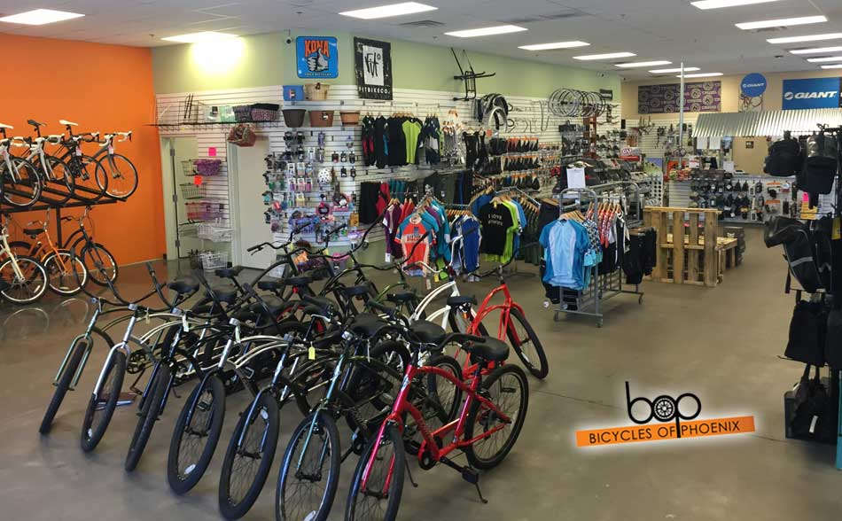 Bicycles Of Phoenix Sales Floor