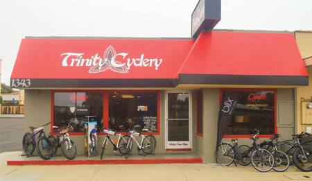 Trinity Cyclery Storefront - 1343 W Grand Ave, Grover Beach, CA 93433