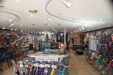 Trinity Cyclery - Showroom