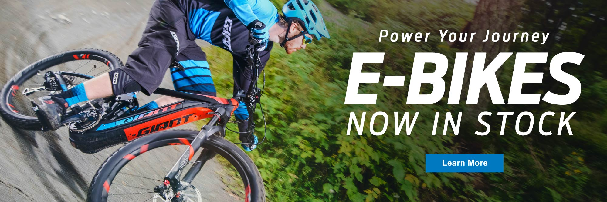 Rudy's Cycle and Fitness carries E-Bikes!