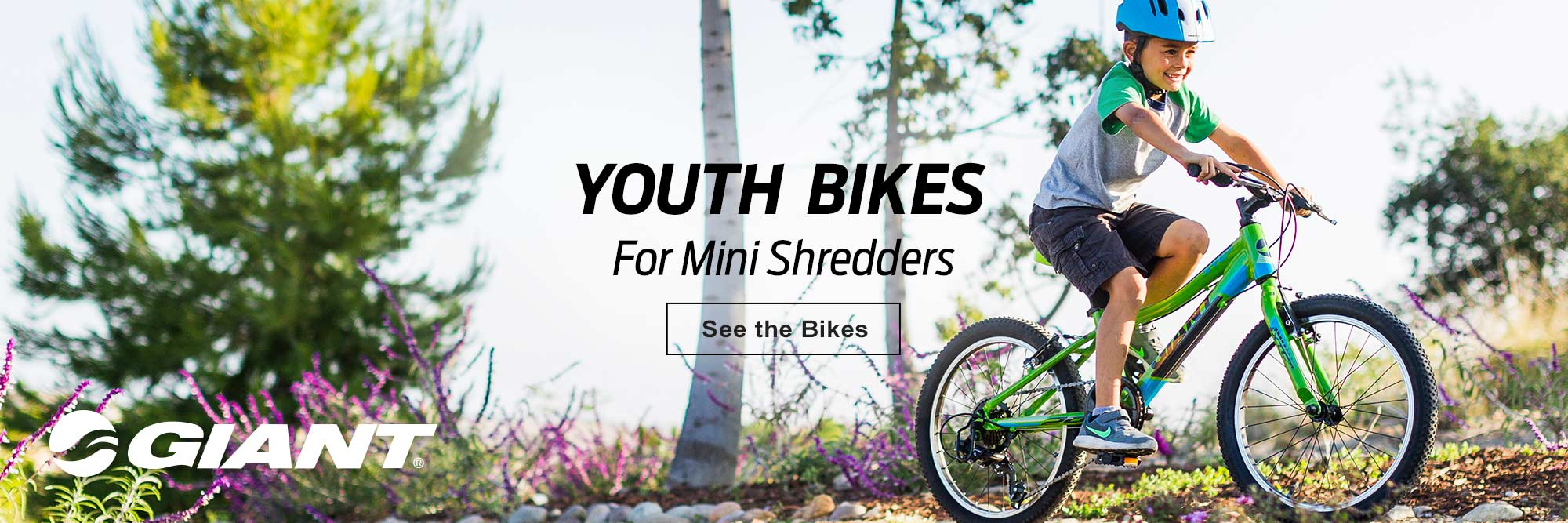 Giant kids bikes