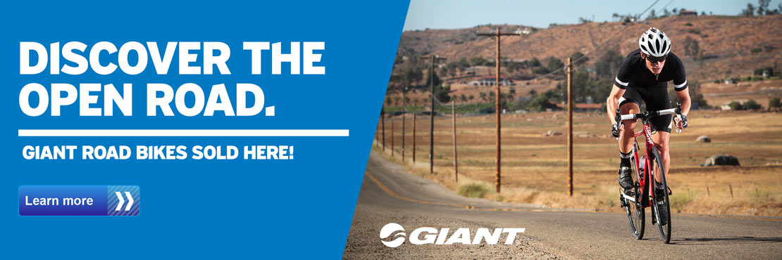 Discover the open road with Giant's road bikes!